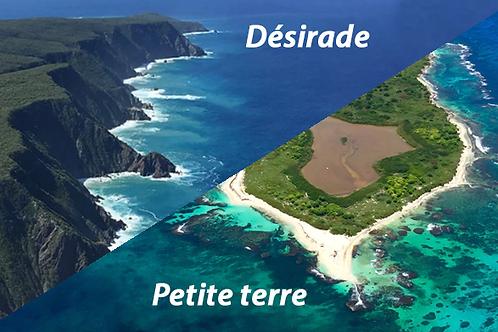 "ULM ZENAIR ""Circuit Jaune"" PDC /Petite Terre / Désirade ""1 personne"" 55 minutes"