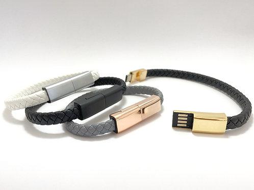 Bracelet Blanc et Or