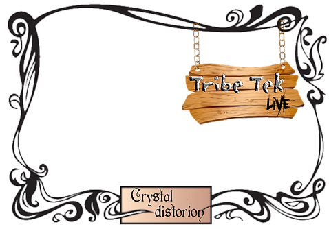 spiral 23 hardtek tribe liveset crystal distortion in bristol