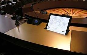 Salle des délibérations Conseil Général Mise à niveau des équipements audiovisuels