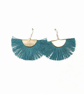 Claudine Tassle earrings
