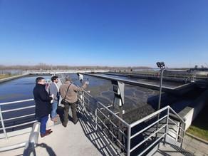 Udruženje 3e i NALED u poseti postrojenju za preradu otpadnih voda u Šapcu