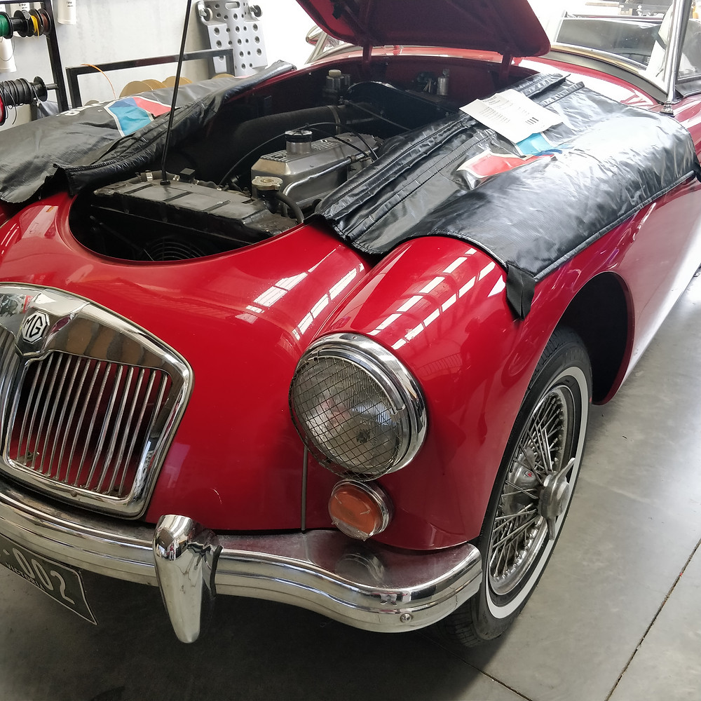 MG 1600 in GP Vehicle Accessories Workshop