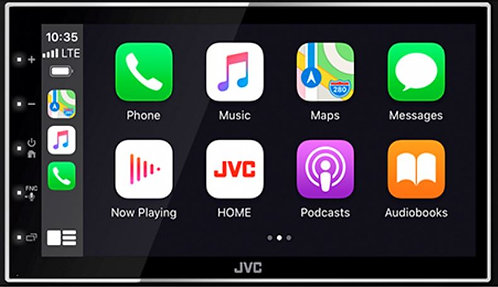 JVC Digital Media Receiver with 6.8-inch WVGA Touch Screen