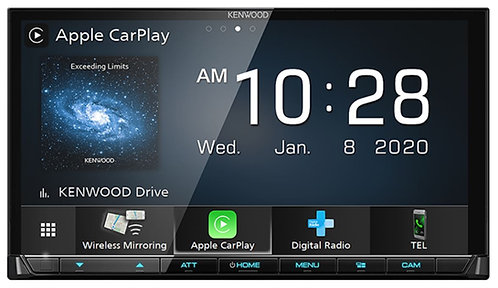 Kenwood DMX8520DABS - Main Screen Wireless Apple CarPlay