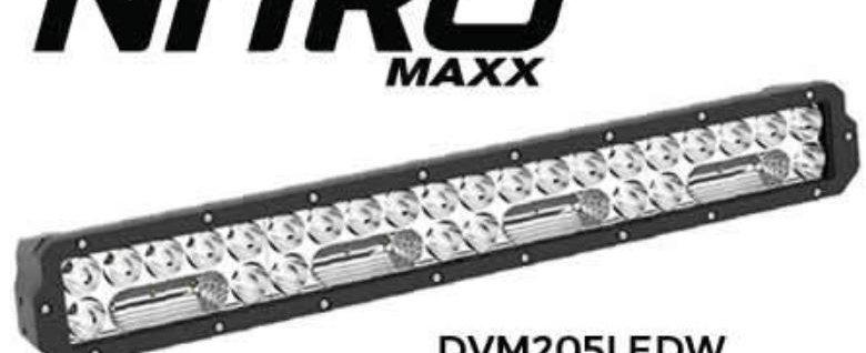 NITRO Maxx LED Light Bar