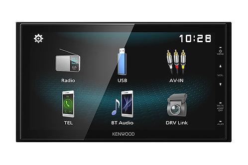 "Kenwood Digital Media Receiver with 6.8"" WVGA Capacitive Display"
