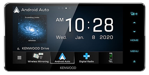 Kenwood DDX920WDABS Android Auto Screen