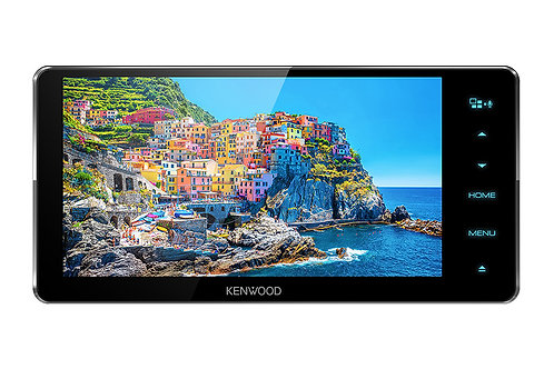 Kenwood AV Receiver with 6.8 inch High Definition Display