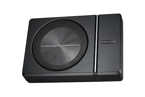 "Kenwood 250 Watt Underseat 8"" Compact Powered Subwoofer"