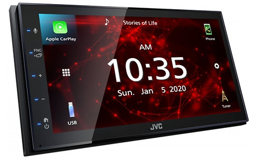 JVC KW-M560BT - Angled Screen with Apple CarPlay