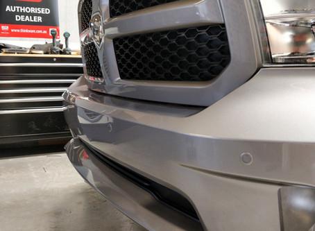 Dodge RAM1500 - Front Parking Sensor Install