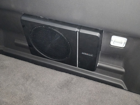 Dual Cab Ute - Kenwood Compact Subwoofer Installation