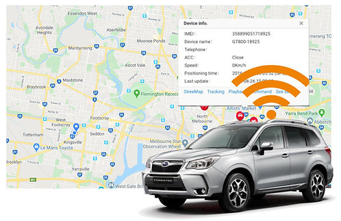 12 Month GPS Tracking Subscription