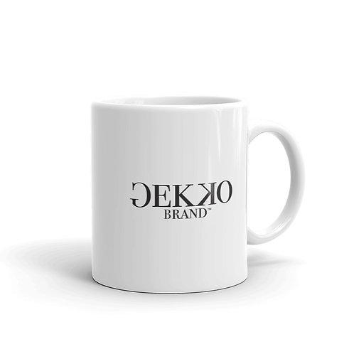 Gekko White Mug