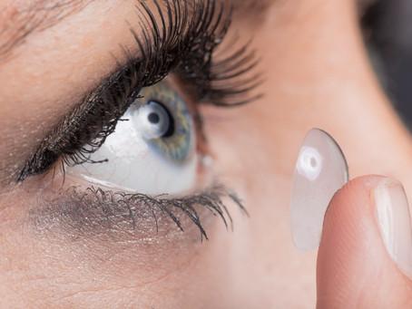 Les différents types de lentilles de contact