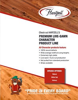 Hartzell Premium Sawn Live Character download