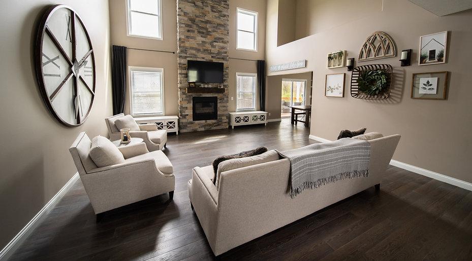 Hartzell Hardwoods white oak floors.