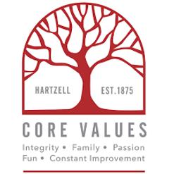 Hartzell Core Values Logo