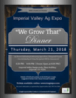 Invitation- Ag Expo- We Grow That Dinner