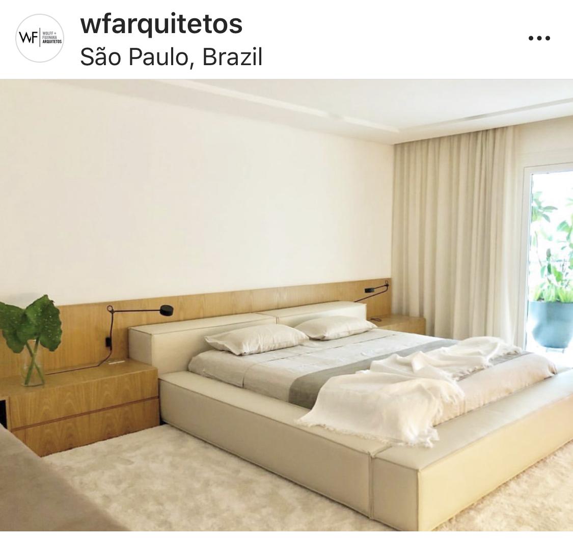 quarto, cortina, tecido, offwhite