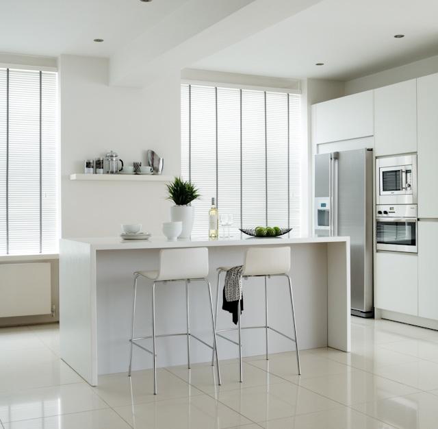 persiana de aluminio, lamina larga, cozinha