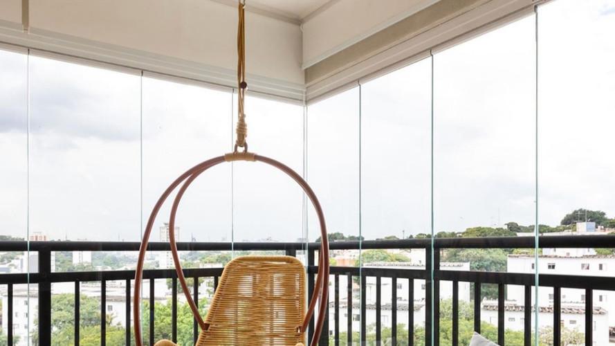 varanda, decora, rolo tela solar