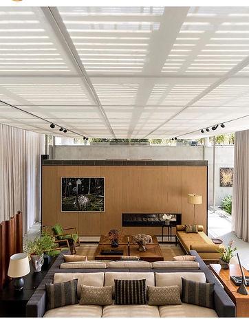 revestimento teto em tela solar