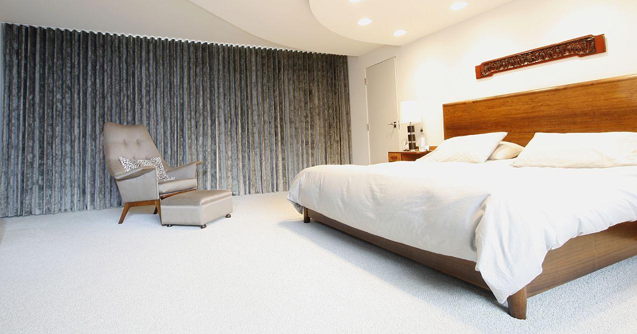 cortina, tecido, tradicional, quarto