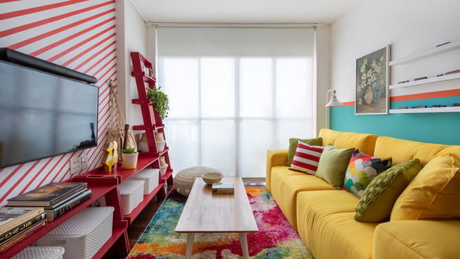 rolo, tela solar, sala, decora