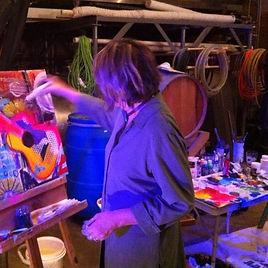 Nancy in Studio