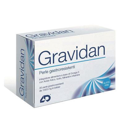 Gravidan integratore alimentare OMEGA 3 Acido Folico Vitamine Minerali gravidanza