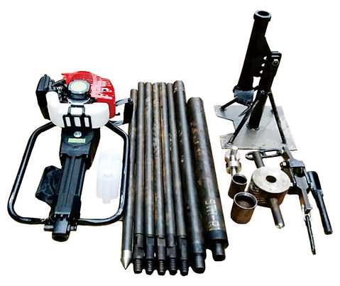 High Efficiency Portable Earth Drilling Rig Core Sample Drilling Machine Tools Drill