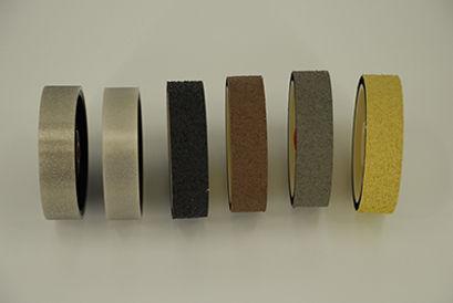 "8""x1-1/2"" Lapidary Cabbing Diamond REZ Resin and Hard Polishing Grinding Wheels Combined 6 Grit Set"