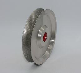 "4"" Diamond Concave Profile EngravingWheel"