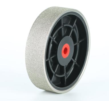 """8"""" Diamond Plastic Hub Hard Textured Grinding Wheels"""