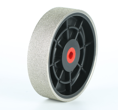 """6"""" Diamond Plastic Hub Hard Textured Grinding Wheels"""