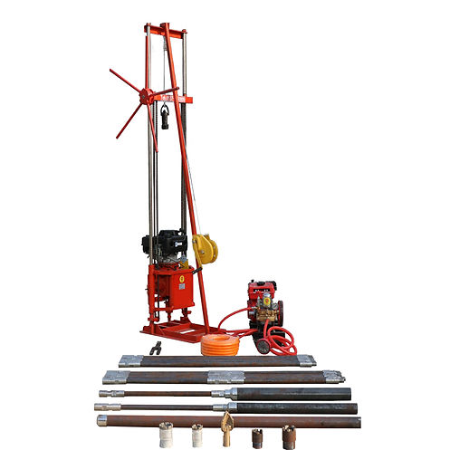 2CS gasoline engine borehole drilling ma