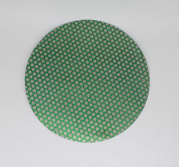 """8"""" Diamond Full Face Dot Flat Plate Laps and Disc"""