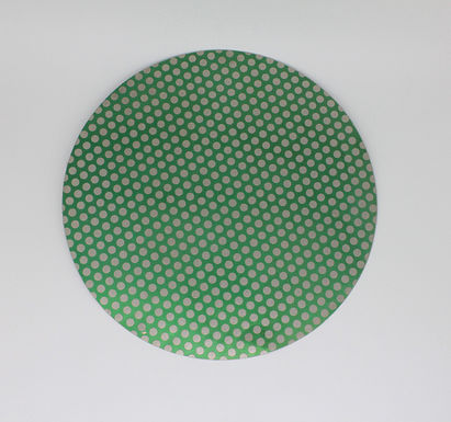 "16"" Diamond Lapidary Glass Ceramic Porcelain  Flat Grinder Magentic Dot Disk"