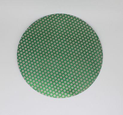 "18"" Diamond Lapidary Glass Ceramic Porcelain  Flat Grinder Magentic Dot Disk"