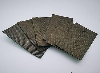 Flexible Diamond Abrasive Sandpaper Shee