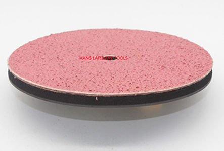 8inch Diamond Smoothing Pads With Sponge layer and Magnetic Backing