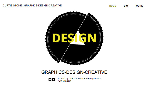 Designer website templates – Graphic Design