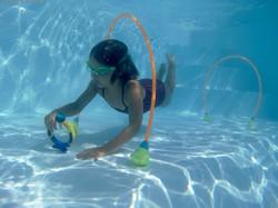 Leçon de natation enfant-Sainte-Maxime-Var
