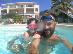 Leçon natation pour enfant avec MorganNatation-Sainte-Maxime-Var