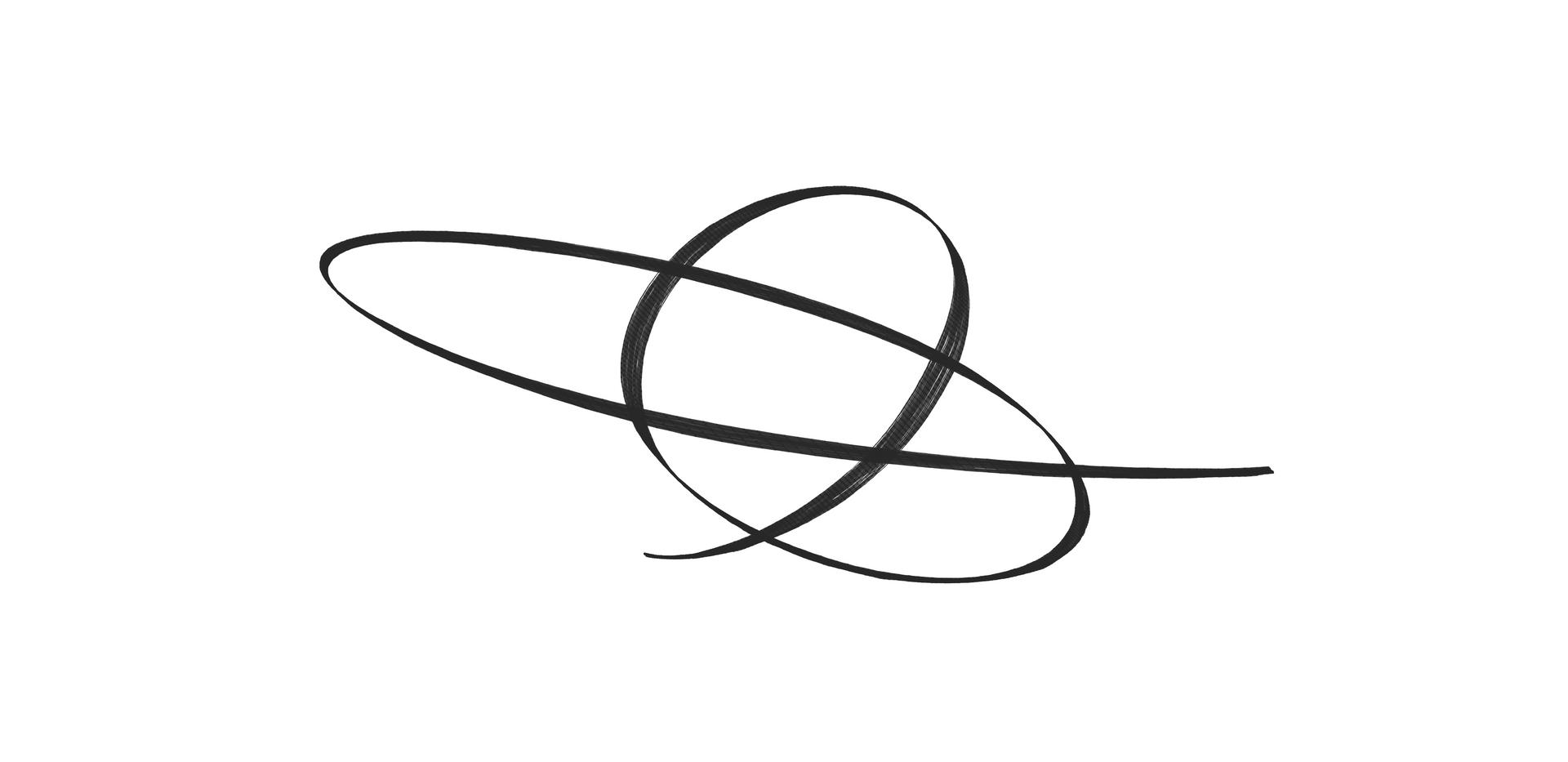 orbital calligraphy 2