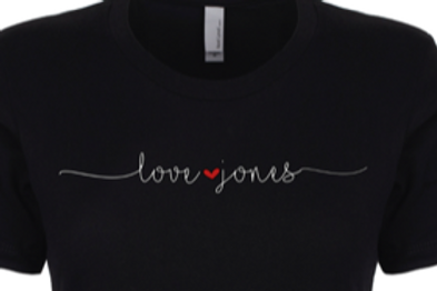Love Jones Logo Tee