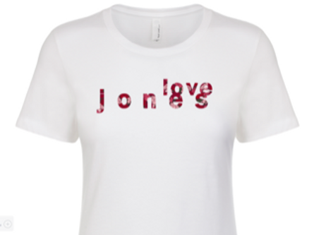 Love Jones Inspired Tee
