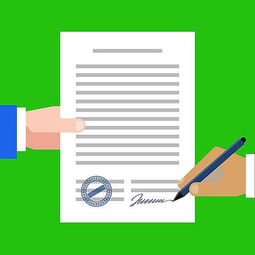 Vending Agreement Template